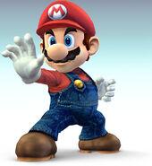 Super Smash Bros Mario 01