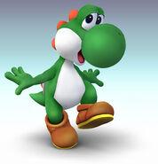 Super Smash Bros Brawl Yoshi 01