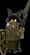 Goblin di Malefica Alabardiere