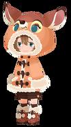 Faline costume