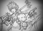 Kingdom-Hearts-Unchained-X-Tetsuya-Nomura-Drawing