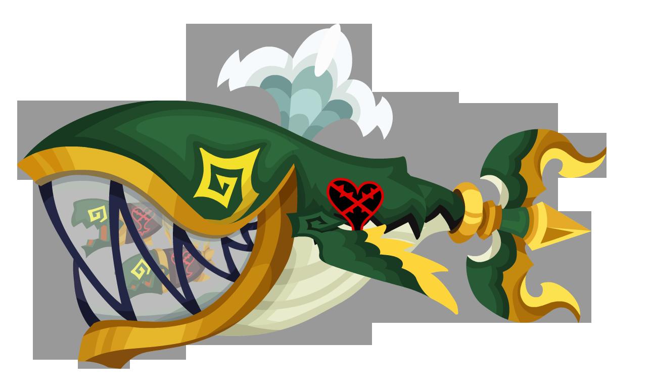 Coda Tridente Verde
