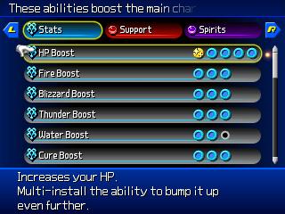 Abilità (Kingdom Hearts 3D: Dream Drop Distance)
