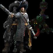 Barbossa e Illuminaotre boss