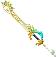 467px-Nightmare's End Reality Shift Keyblade KH3D