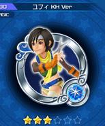 Yuffie kh1 medaglia