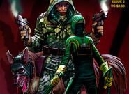 Kick-ass and Colonel Stars