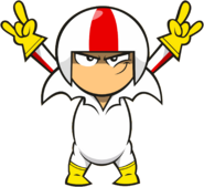 Kick daredevil pose