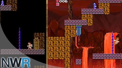 Kid Icarus Comparison (NES Classic Edition VS