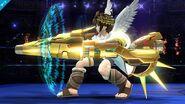 Pit con el Aurora completo en SSB4 (Wii U)