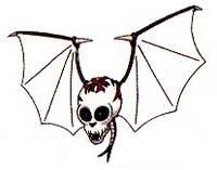 Artwork de Cráneo Volador en Kid Icarus Of Myths and Monsters.png