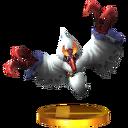 Trofeo de Zuri en SSB3DS