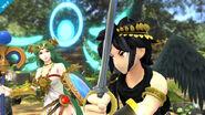 Pit Sombrio y Palutena en Super Smash Bros. para Wii U