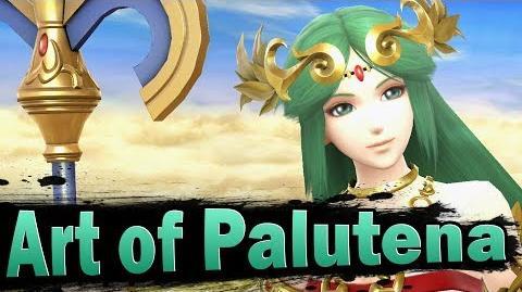 Smash 4 Art of Palutena