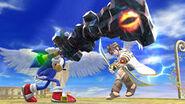 Maza de hierro en Super Smash Bros. 4