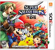 Super Smash Bros 3DS carátula