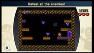Vence a los enemigos NES Remix 2