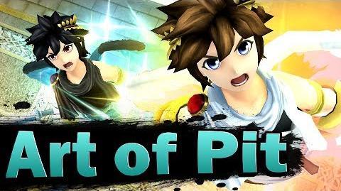 Smash 4 Art of Pit