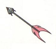Artwork de la Flecha de Luz en Kid Icarus Of Myths and Monsters