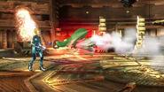 Palutena usando Misil alado en Super Smash Bros. para Wii U