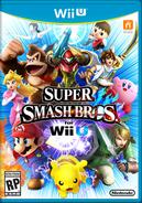 Super Smash Bros Wii U carátula