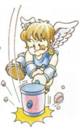 Artwork de Pit y el mazo en Kid Icarus
