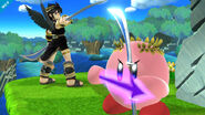 Pit Sombrio y Pit Sombrio Kirby Super Smash Bros. para Wii U