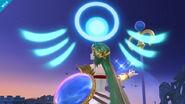 Palutena en el Campo de batalla SSB para Wii U