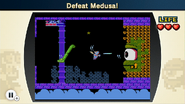 Vence a Medusa NES Remix 2