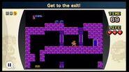 Sube hasta la salida NES Remix 2