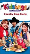 Country Sing-Along - 2002 VHS