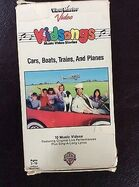Cars Boats Trains and Planes - Original VHS 2