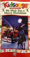 We Wish You a Merry Christmas - 1995 VHS