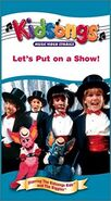 Let's Put on a Show - 2002 VHS