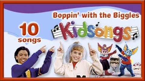 Boppin' with the Biggles by Kidsongs Kids Dance Songs La Bamba Head Shoulders Knees PBS Kids