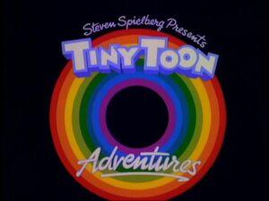 The Tiny Toon Adventures logo.