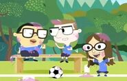 Estelle in Footballteam