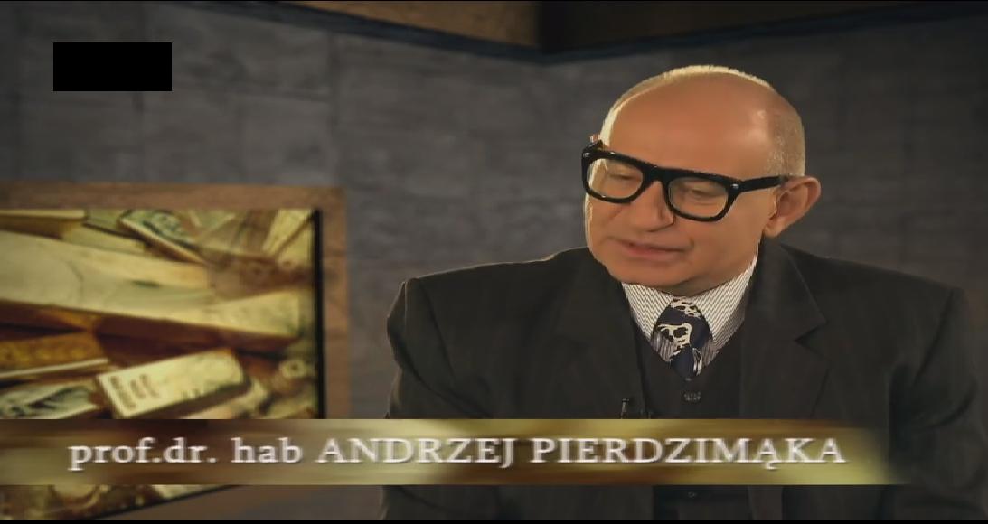 Profesor Andrzej Pierdzi-Mąka
