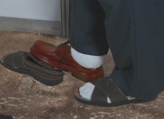Buty z Kalkuty