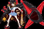KLK-IF Mako Mankanshoku body (Fight Club uniform)
