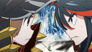 Two-Star Mako fights against Ryūko.