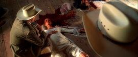 The blood-splattered BRIDE
