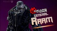 General RAAM in E3 2016