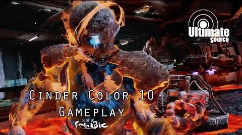 Cinder Color 10 Gameplay (Killer Instinct)