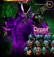 Cinder Retro Shadow Skin