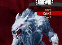 Sabrewulf White