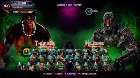 Killer Instinct Kilgore - Announcer Classic Select Screen