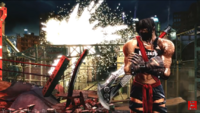 Jago stage ultra victory pose