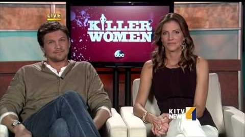 """Live interview with the stars of """"Killer Women"""