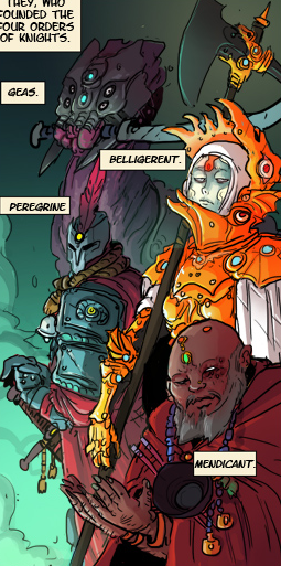 Belligerent Knights